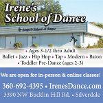 Irenes School of Dance in Silverdale, WA for Ballet, Tap, Jazz & more!