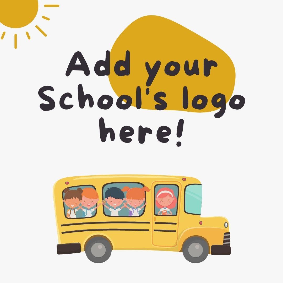 Add School Logo Here