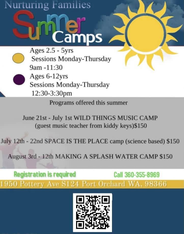Alta Vista Nuturing Families Summer Camp 2021