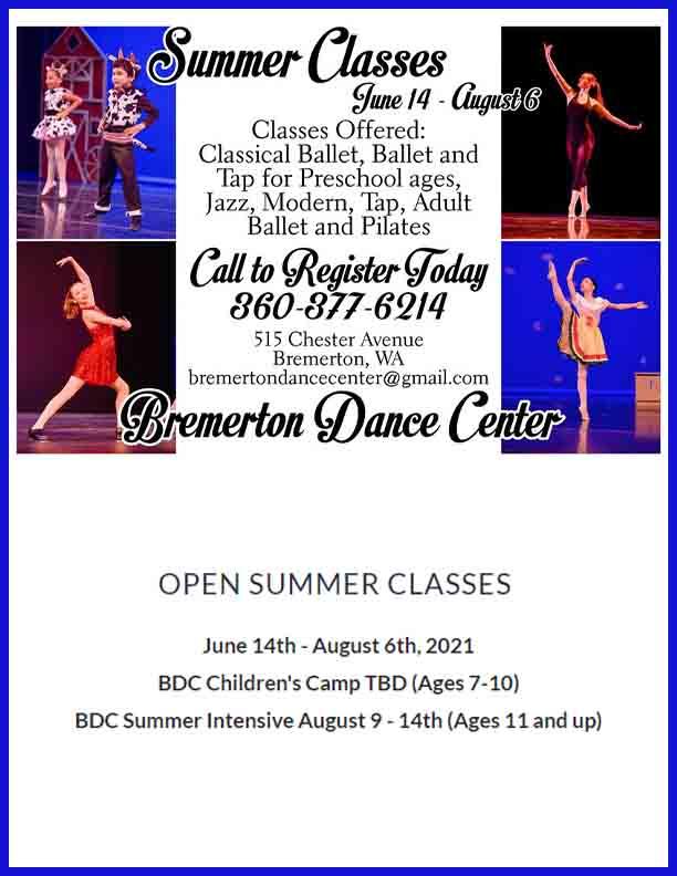 Bremerton Dance Center Summer2021