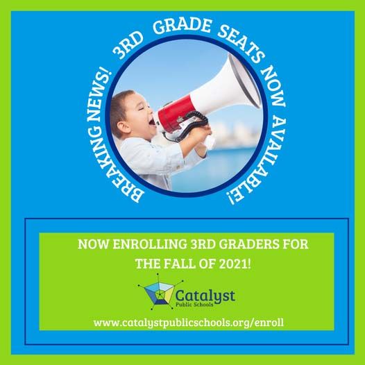 Catalyst Public School Enroll now!