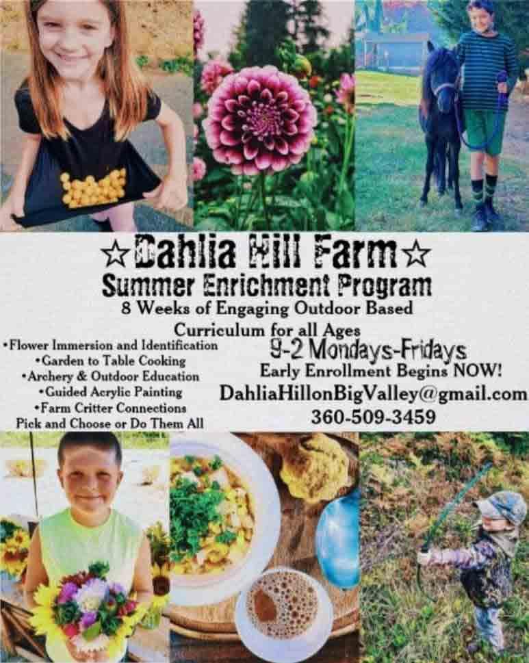 Dahlia Hill Farm Camp 2021