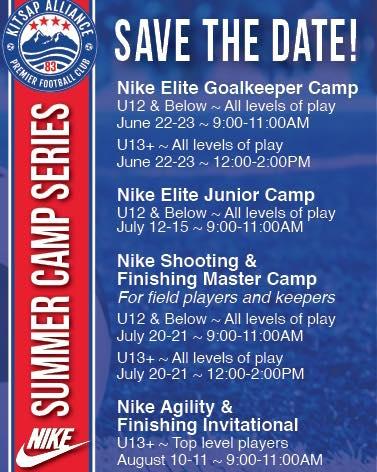 KAFC Summer Camp 2021