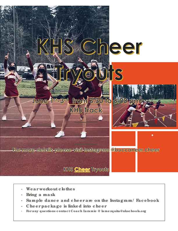 Kingston High Cheer Tryouts 2021