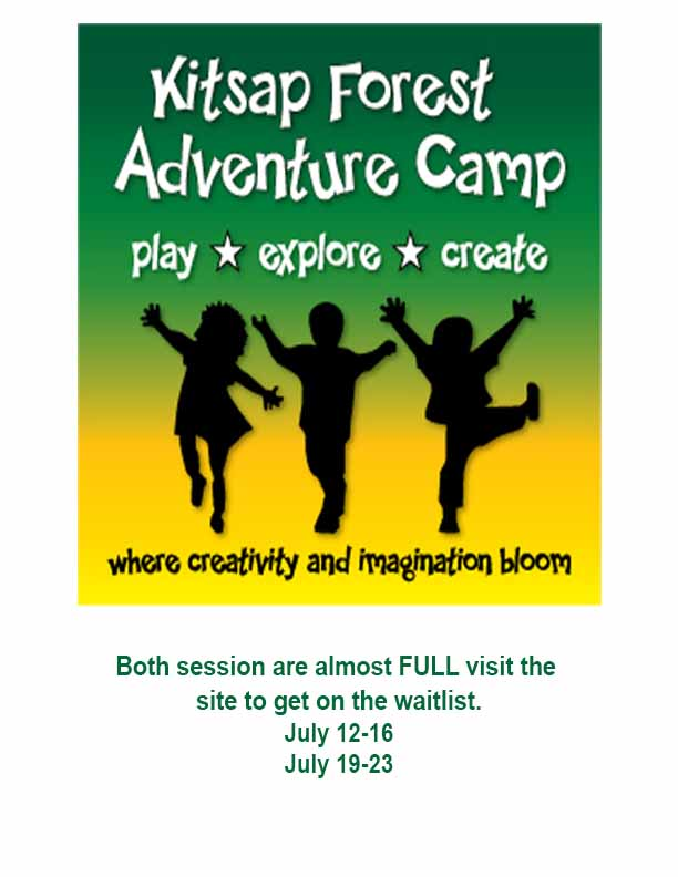 Kitsap Forest Theater Adventure Camp 2021