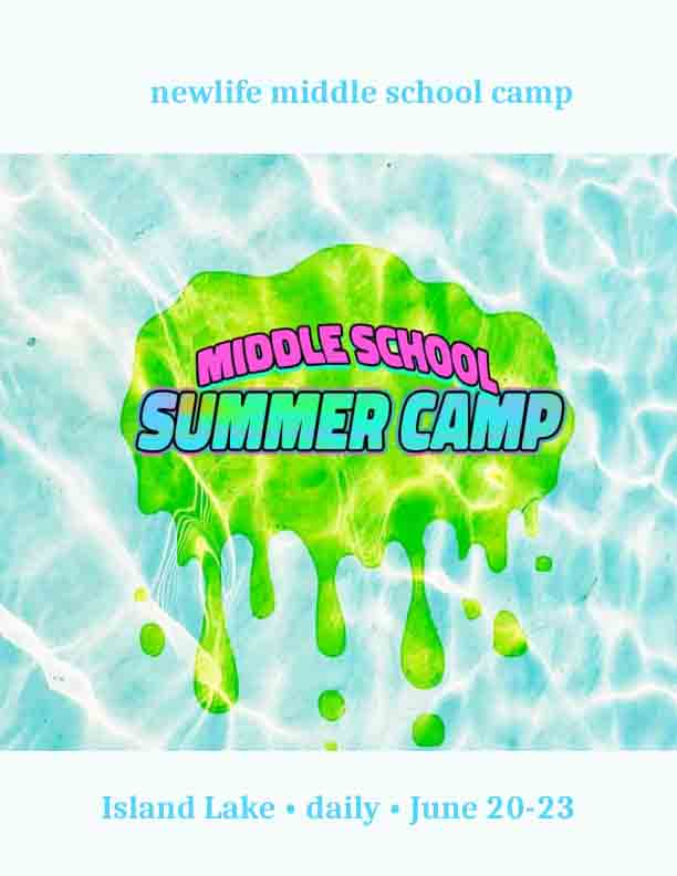 New Life Middle School Summer Camp 2021