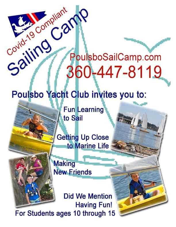 Poulsbo Yacht Club Sail Camp 2021