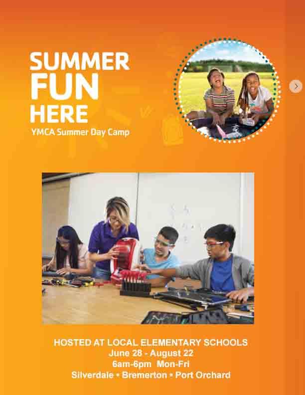 YMCA Summer Day Camp At Schools 2021