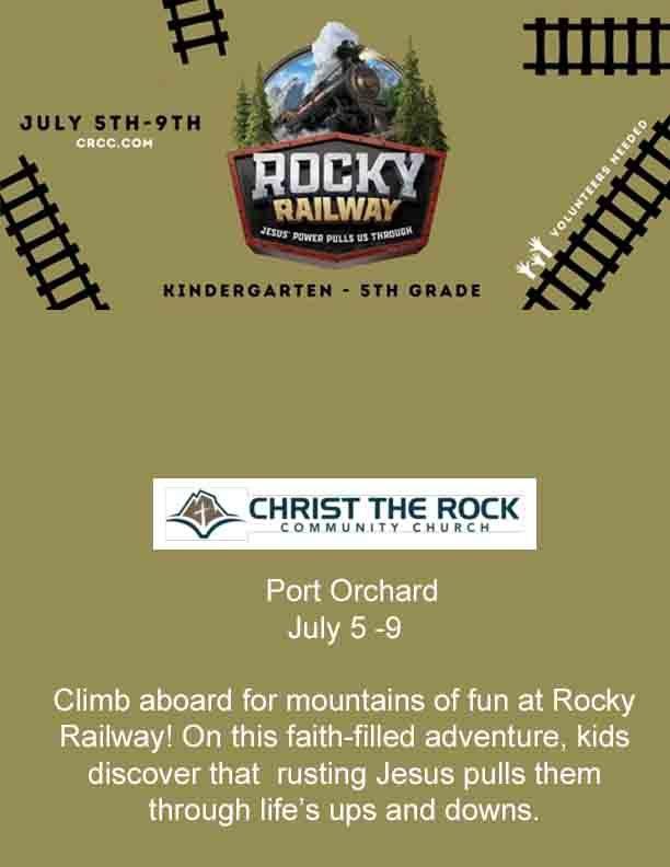 Christ The Rock VBS Summer 2021