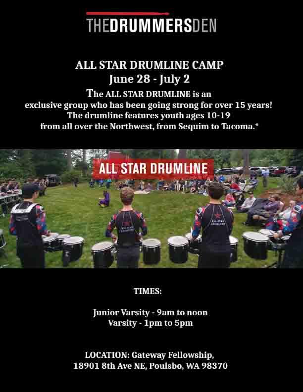 Drummers Den Summer 2021