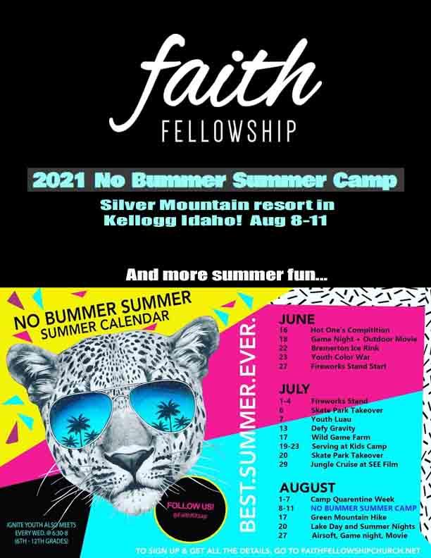 Faith Fellowship Summer Camp 2021