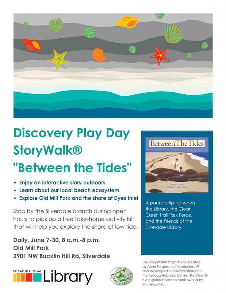 Low Tide StoryWalk Flyer