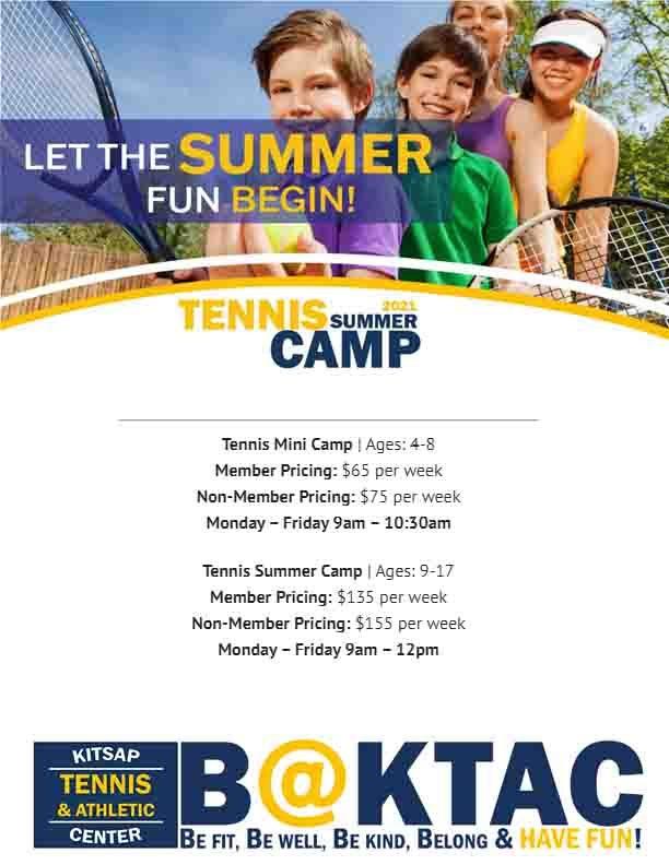 KTAC Summer Tennis 2021
