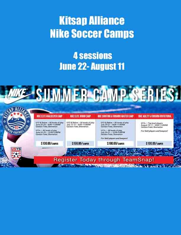 Kitsap Alliance Soccer Summer 2021