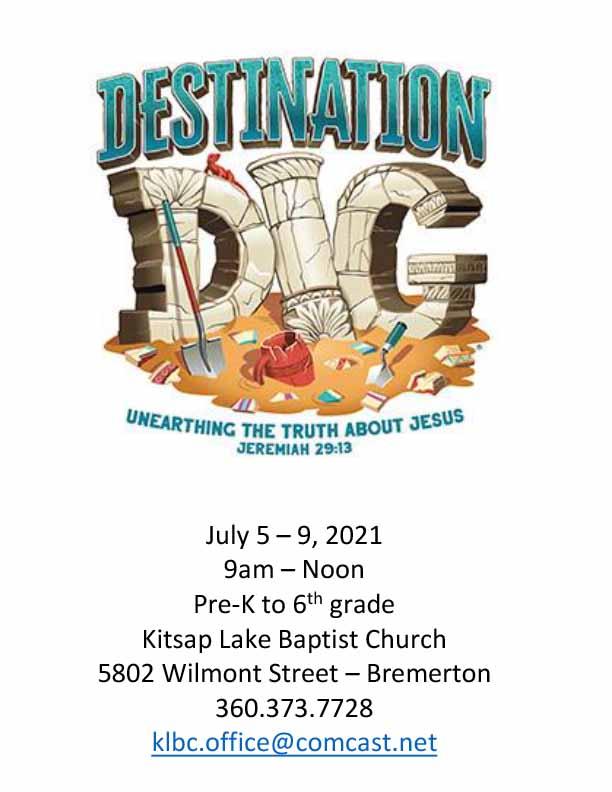 Kitsap Lake Baptist VBS 2021