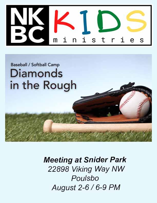 NKBC Baseball Camp Diamonds In The Rough 2021