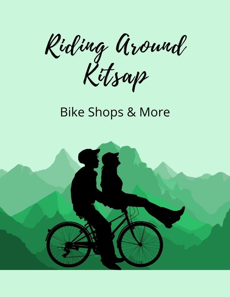 Riding Around Kitsap Flyer Green