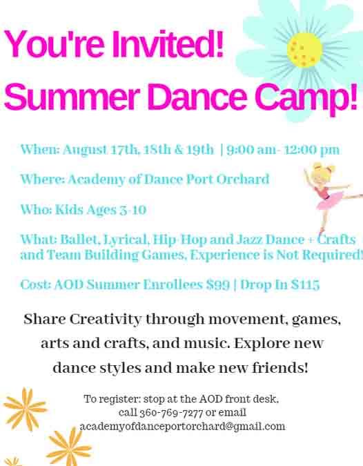 Academy Of Dance PO Camp 21