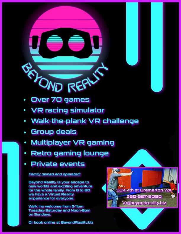 Beyond Reality Bday Flyer