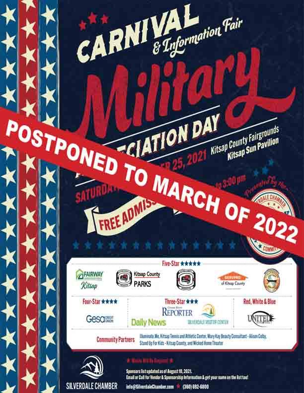 Military Appreciation Day21 Postponement