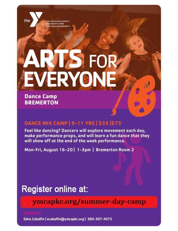 YMCA 2021 Dance Camp Bremerton