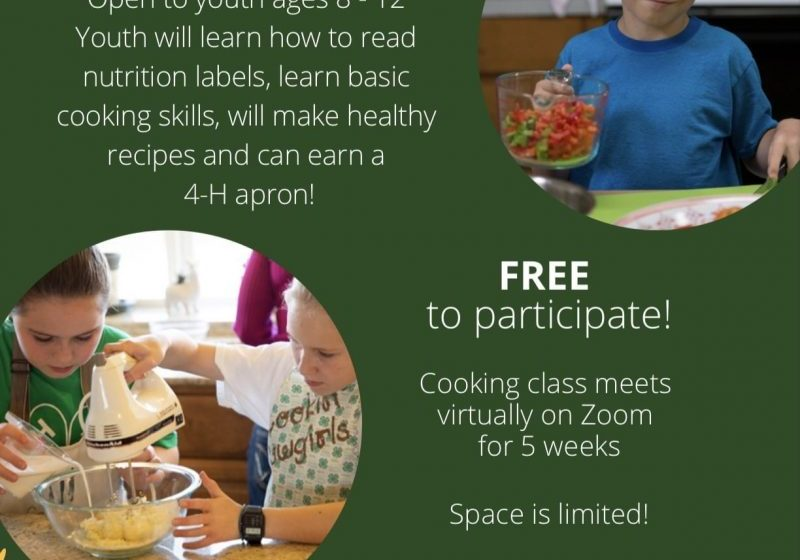 4H Cooking Class