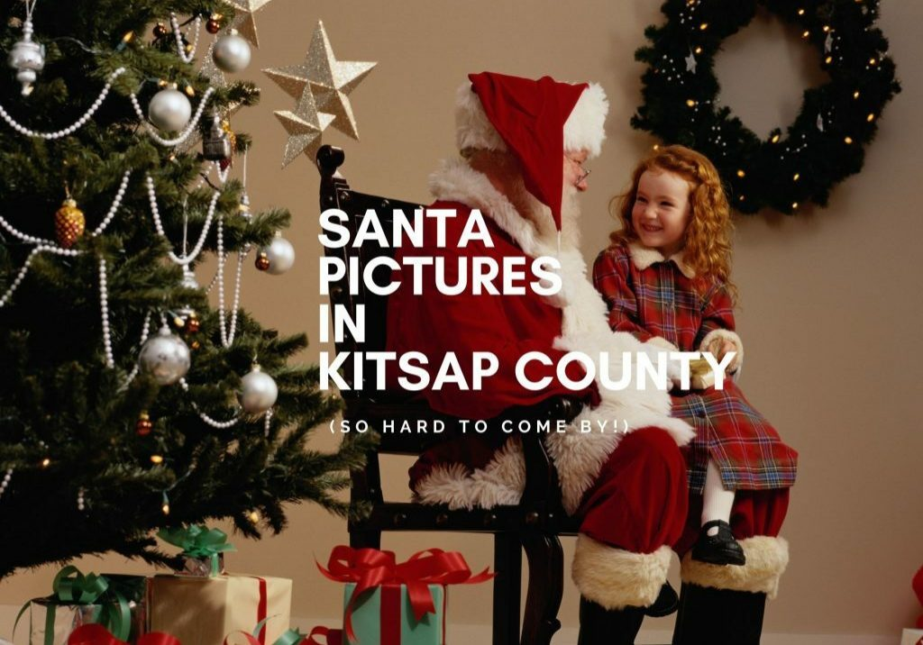 Santa pictures in Kitsap County