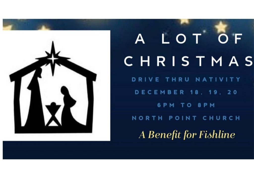 This year, North Point Church is recreating a live nativity to respond to the challenges of celebrating Christmas during the Covid pandemic. The parking lot will be transformed into a four scene, drive thru experience!